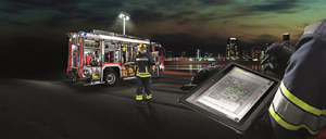 Information management system fire fighting - Rosenbauer