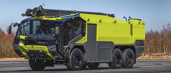 Modern fire fighting vehicles   Rosenbauer PANTHER - Rosenbauer