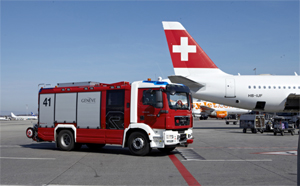 ARFF trucks on series chassis - Rosenbauer