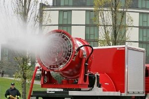 Large fans for fire fighting - Rosenbauer