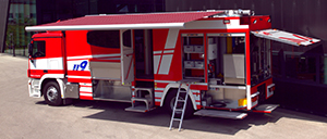 HAZMAT operations vehicle concepts - Rosenbauer