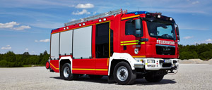 Fire engines from AT series - Rosenbauer