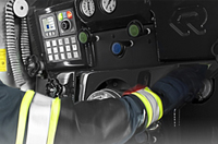 Pumper with built-in pumps - Rosenbauer