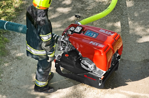 Mobile extinguishing system for light pumper - Rosenbauer