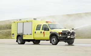 ARFF fire trucks for rapid intervention - Rosenbauer