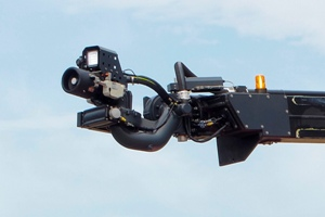 Electronically controlled turret HRET - Rosenbauer