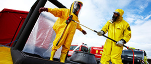 Hazardous materials equipment for HAZMAT operation - Rosenbauer