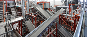 Automatic fire protection Korn Recycling - Rosenbauer