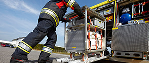 HAZMAT equipment containers for operations - Rosenbauer