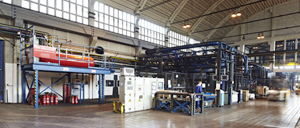 Automatic fire protection for forging presses - Rosenbauer