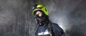 Firefighter gear for respiration - Rosenbauer