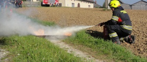 Firefighting gear in action - Rosenbauer