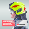Helmet adjustment HEROS-titan