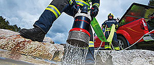 Rosenbauer fire fighting equipment: pumps