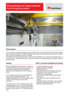 Datasheet Fire Protection for Waste Bunkers