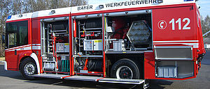 Industrial firefighting with special trucks  - Rosenbauer