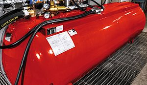 Large POLY CAFS extinguishing systems - Rosenbauer