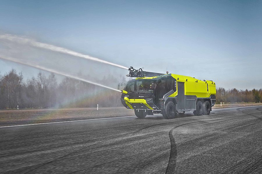 Modern Fire Fighting Vehicles Rosenbauer Panther