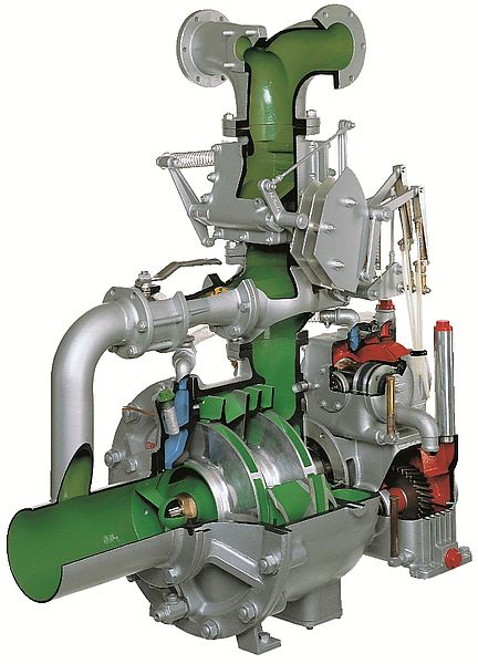Fire engine pump R600 - Rosenbauer