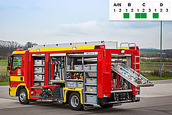 HAZMAT vehicle CL series - Rosenbauer