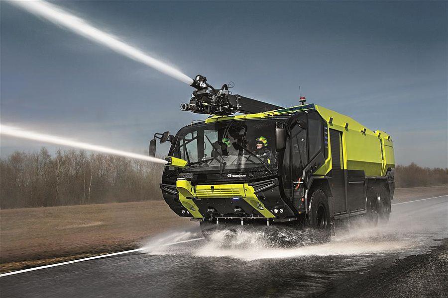 Fire pump systems & fire truck mounted pumps - Rosenbauer