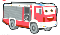 Malvorlage AT farbig