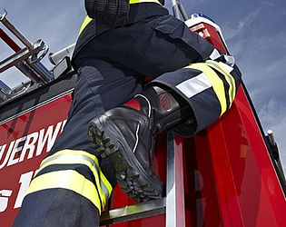 Fire & heat resistant boots TWISTER - Rosenbauer