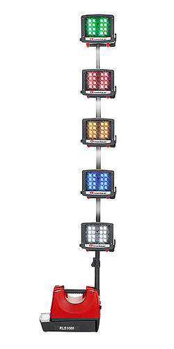 Lighting equipment with signal flashing light - Rosenbauer