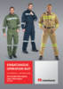 User information operation suit with fabric lining