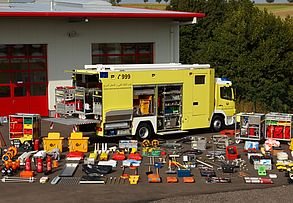 Special airport fire vehicles for chemical defense - Rosenbauer