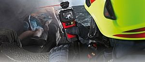 Firefighter equipment searching for people - Rosenbauer
