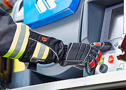 Fire gloves for secure grip - Rosenbauer