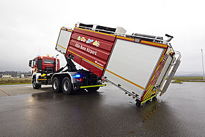 Airport firefighting logistics - Rosenbauer