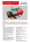 Data sheet POLY SKID Extinguishing System SL100-300 CAFS