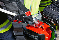 Carabiner and rope - Rosenbauer