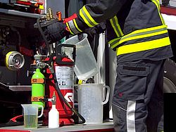 Portable CAFS extinguisher POLY PORTEX maintenance - Rosenbauer