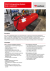 Data sheet POLY Extinguishing System SL500-6000