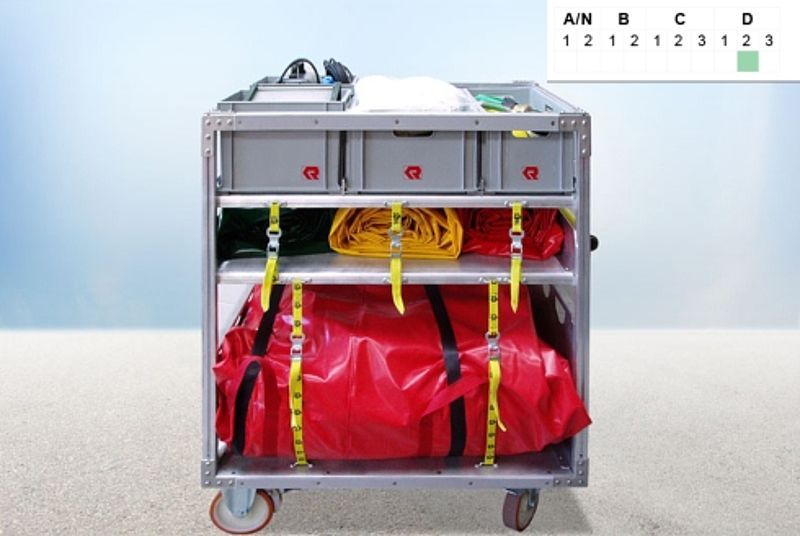 Roll-on/roll-off containers tent. Decontamination ... & HAZMAT container u0026 decontamination container - Rosenbauer