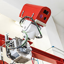 Early fire detection system RPA Infrared Detection Ignis3D - Rosenbauer