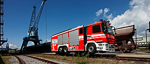 Special operations industrial firefighting - Rosenbauer