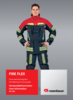 User information jacket FIRE FLEX