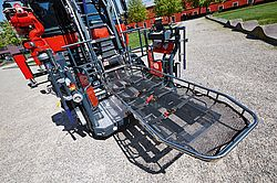 Rosenbauer rescue cage with stretcher accommodation