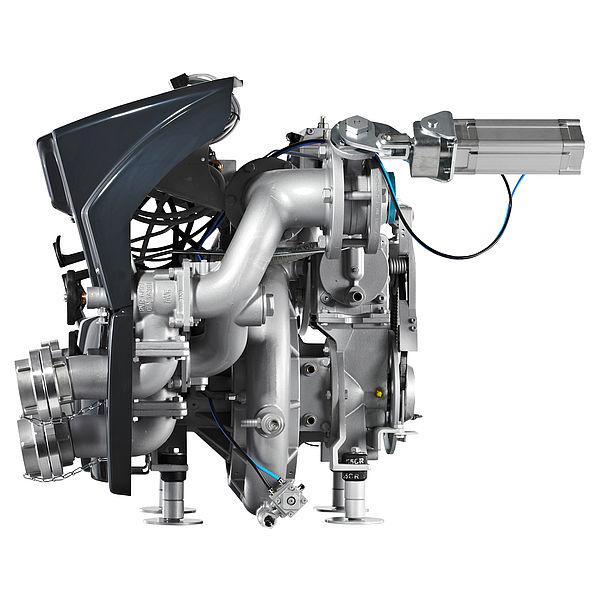 Centrifugal fire pump & normal pressure pumps - Rosenbauer