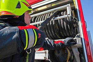 Fire truck equipment for rapid intervention - Rosenbauer