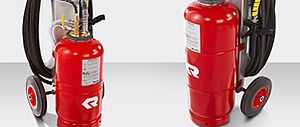 Mobile POLY extinguishing system TROLLEY - Rosenbauer