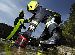 Rosenbauer TWISTER is largely waterproof