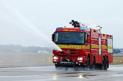 Front water turret RM15 - Rosenbauer