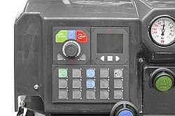 Fire truck interface Rosenbauer LCS
