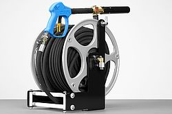 Hose reel for UHPS fire extinguishing system - Rosebauer