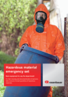 Brochure hazardous material emergency set
